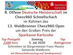 Chess960 Schnellschach Deutsche Meisterschaft